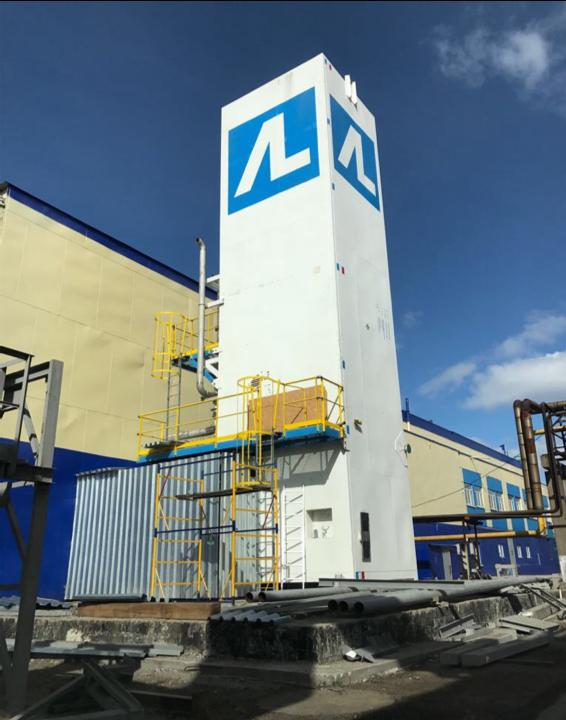 Выполнение строительно-монтажных работ, монтаж оборудования «Установка разделения воздуха» в корпусе 106 ЦРГ, АО «ФосАгро-Череповец».
