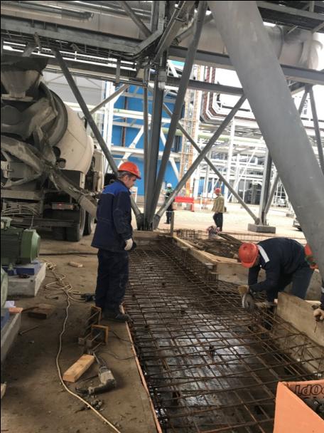 «Строительство помещения насосной станции для конденсатных насосов поз.1-Е-1424-Р1А/В, 1-Е-1435-Р1А/В цеха по производству аммиака №3»